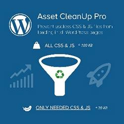 Asset CleanUp Pro WordPress speed optimiser