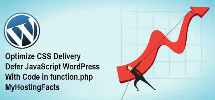 CSS and JavaScript defer with code in funcntion.php WordPress