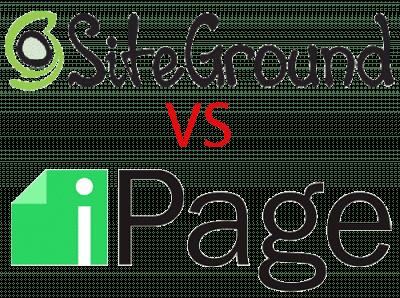 SiteGround vs iPage web hosting comapanies