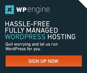 WP Engine best wordpress managed hosting