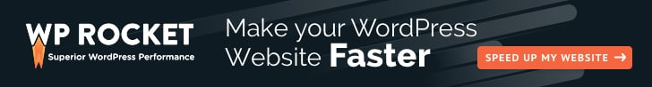 WP Rocket best cache plugin for WordPress