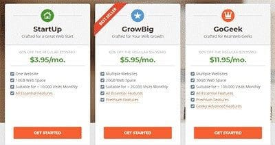 siteground review hosting, shared plans