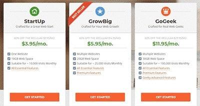 siteground hosting shared plans