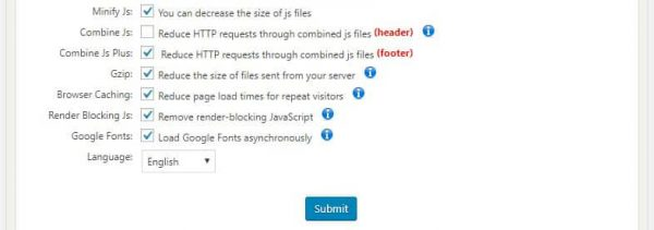how to minify, combine third party, combine internal and defer JavaScript wordpress speed optimization